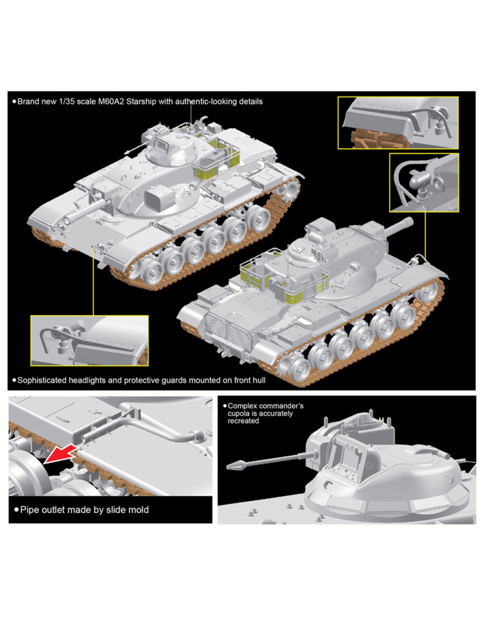 Dragon Models 3562 - 1/35 M60A2 Starship - Smart Kit