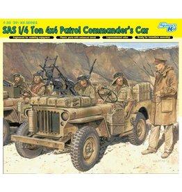 Dragon Models 6724 - 1/35 SAS 1/4 Ton 4x4 Patrol Commander's Car