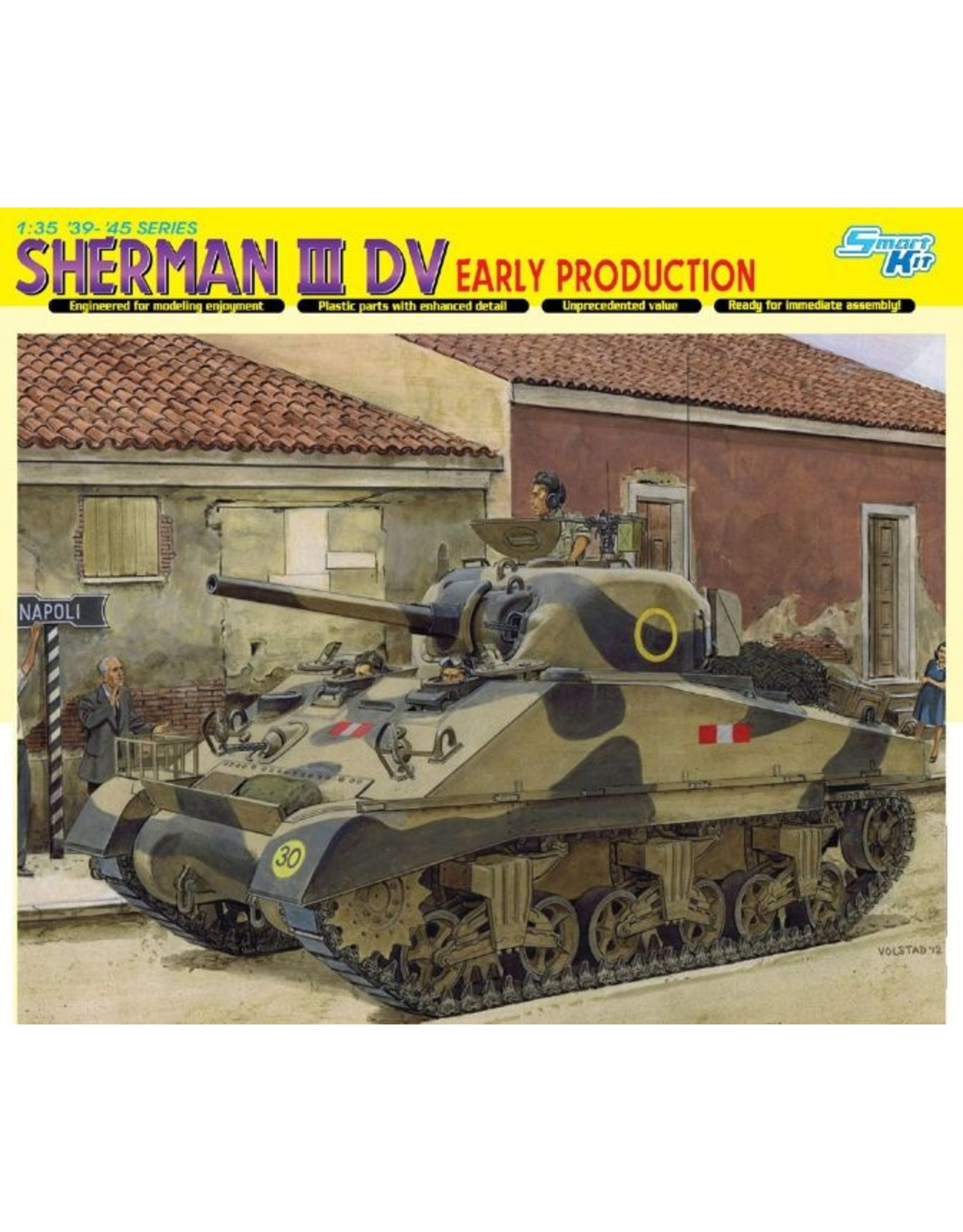 Dragon Models 6573 - 1/35 Sherman III DV, Early Production