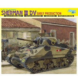 Dragon Models 6573 - 1/35 Sherman III DV, Early Production