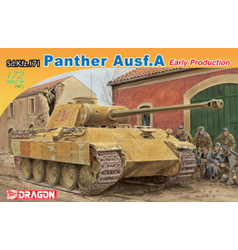 Dragon Models 7499 - 1/72 Sd.Kfz.171 Panther A, Early Production
