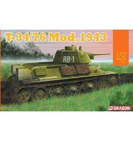 Dragon Models 7596 - 1/72 T-34/76 Mod.1943