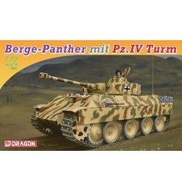 Dragon Models 7508 - 1/72 Berge-Panther mit Pz.Kpfw.IV Turm