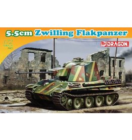 Dragon Models 7488 - 1/72 5.5cm Zwilling Flakpanzer