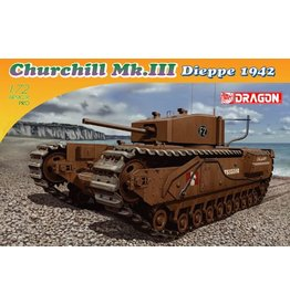 Dragon Models 7510 - 1/72 Churchill Mk.III, Dieppe 1942