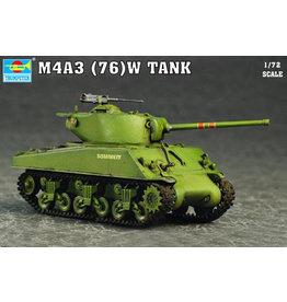 Trumpeter 7226 - 1/72 M4A3 76(W) Tank