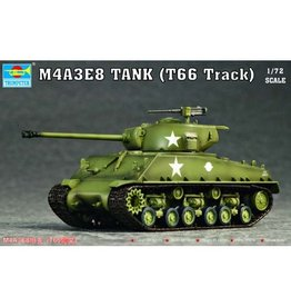 Trumpeter 7225 - 1/72 U.S. M4A3E8 Tank (T66 Track)