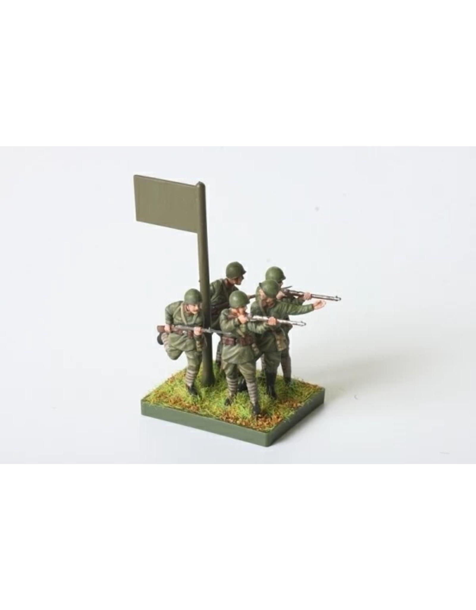 Zvezda 6103 - 1/72 Soviet Infantry 1941-1945
