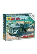 Zvezda 6126 - 1/100 German Truck Opel Blitz 1937-1944