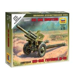 Zvezda 6122 - 1/72 Soviet 122mm M30 Howitzer