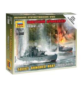 Zvezda 6164 - 1/350 Soviet Armored Boat Project 1125