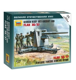 Zvezda 6158 - 1/72 German 88mm Flak 36