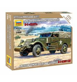 Zvezda 6245 - 1/100 U.S. M3 Scout Car
