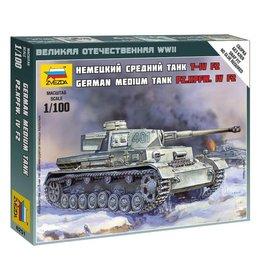 Zvezda 6251 - 1/100 German Panzer IV Ausf.H