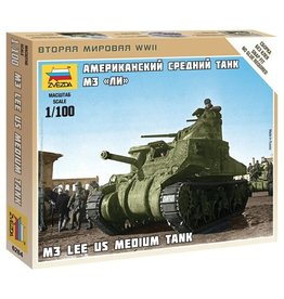 Zvezda 6264 - 1/100 U.S. Medium Tank M3 Lee