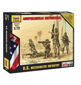 Zvezda 7407 - 1/72 U.S. Mechanized Infantry