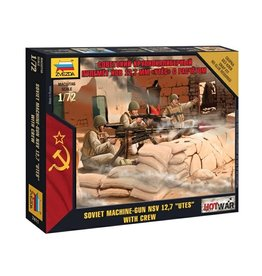Zvezda 7411 - 1/72 Soviet Machine Gun with Crew