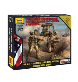 Zvezda 7415 - 1/72 U.S. M-47 Dragon Anti-Tank Missile System with Crew
