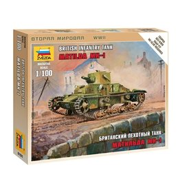 Zvezda 6191 - 1/100 British Matilda Mk-I Light Tank