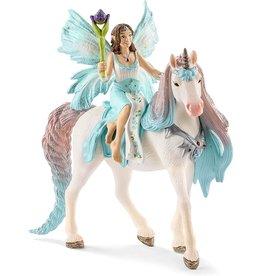 Schleich 70569 - Fairy Eyela with Princess Unicorn