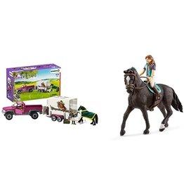 Schleich 42346 - Pick-up with Horse Trailer