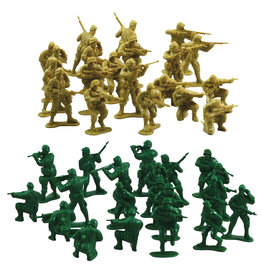 Wow Toyz Combat Soldiers - 40 Pieces