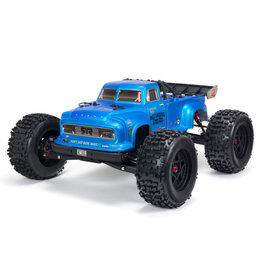 Arrma 1/8 NOTORIOUS 6S v5 4WD BLX Stunt Truck with Spektrum Firma RTR - Blue