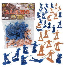 Stevens International 40022 - The Alamo Plastic Army Men - 37 Piece
