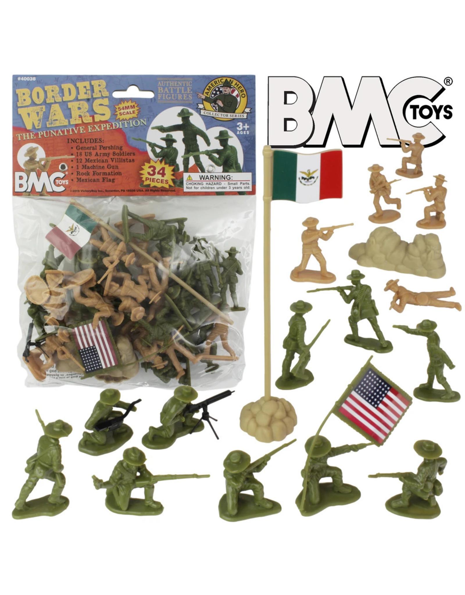 BMC 40038 - Border Wars US Army Vs. Mexican Villistas - 34 Piece