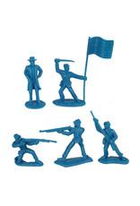 BMC 40028 - Civil War Battle of Appomattox Plastic Army Men - 26 Piece