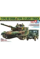 Tamiya 25186 - 1/35 JGSDF Type 90 Tank & Type 73 Light Truck LE