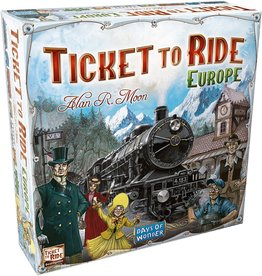 Asmodee Ticket To Ride: Europe