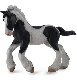 Breyer Black & White Piebald Gypsy Foal