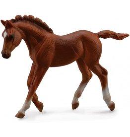 Breyer Chestnut Thoroughbred Foal Walking