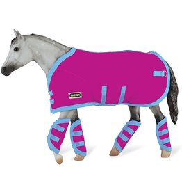 Breyer Pink Blanket & Shipping Boots