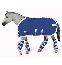 Breyer Blue Blanket & Shipping Boots