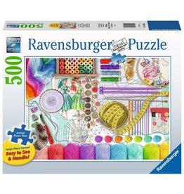 Ravensburger Needlework Station - 500 Piece Puzzle