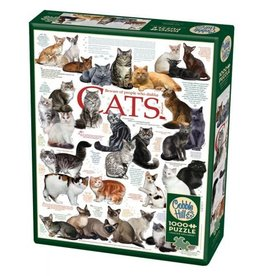 Cobble Hill Cat Quotes - 1000 Piece Puzzle