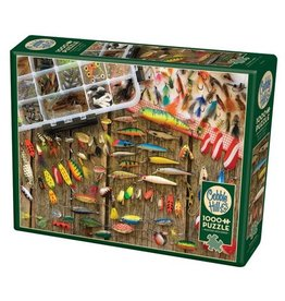 Cobble Hill Fishing Lures - 1000 Piece Puzzle