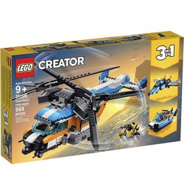 Lego 31096 - Twin-Rotor Helicopter