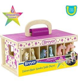 Breyer Unicorn Magic Wooden Carry Case