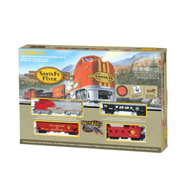 Bachmann Santa Fe Flyer RTR HO Scale Train Set