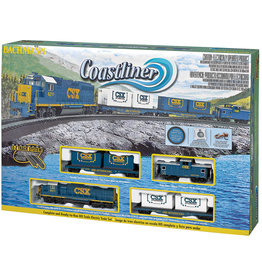 Bachmann Coastliner RTR HO Scale Train Set