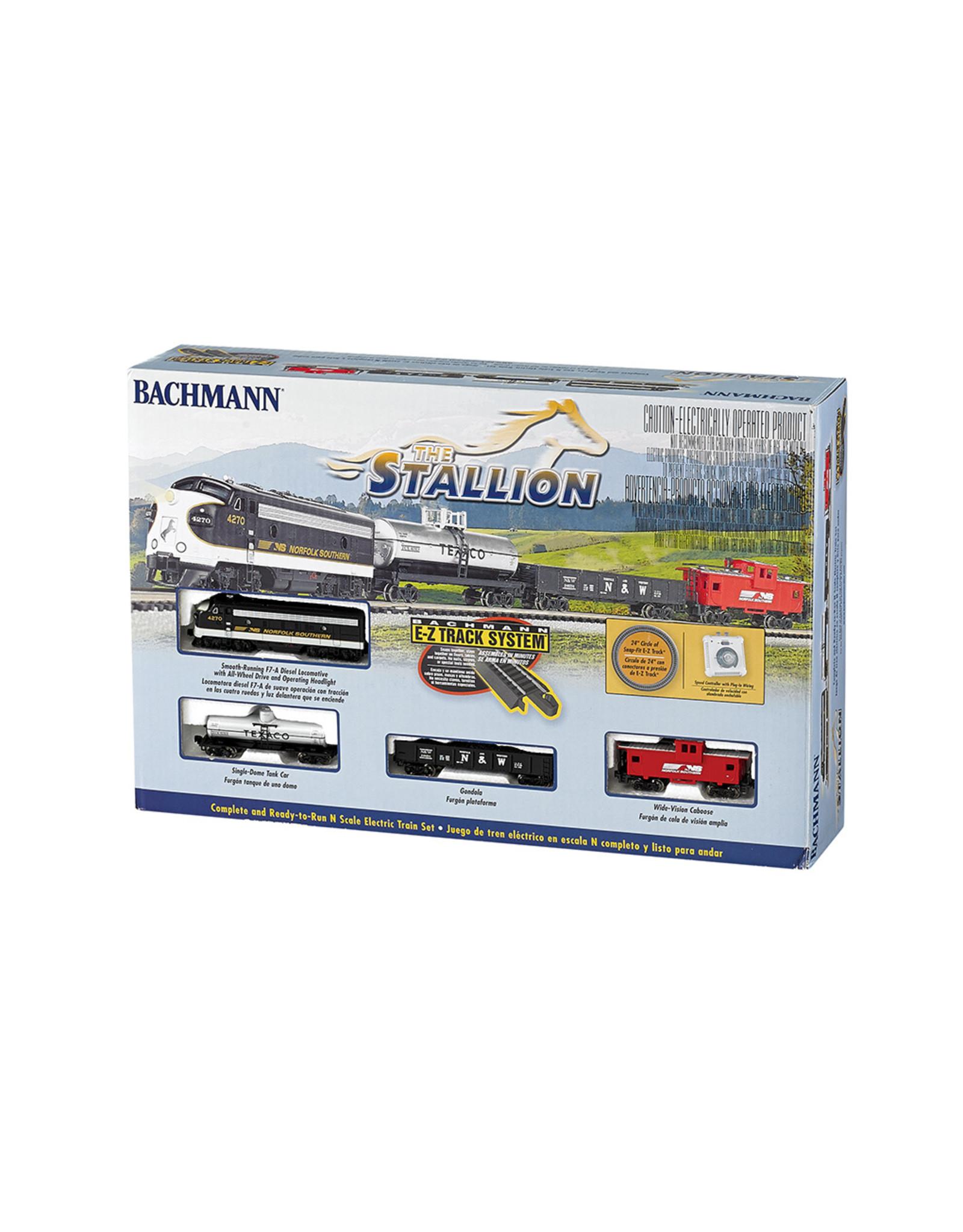 Bachmann The Stallion RTR N Scale Train Set