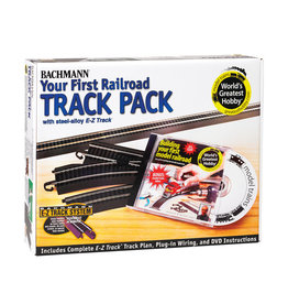 Bachmann 44497 - Steel Alloy First Railroad Track Pack HO Scale EZ Track