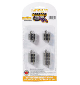 Bachmann 44899 - Assorted Short Connector Sections N Scale EZ Track