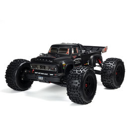 Arrma 1/8 NOTORIOUS 6S v5 4WD BLX Stunt Truck with Spektrum Firma RTR - Black