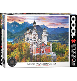 Eurographics Neuschwanstein Castle Bavaria, Germany - 1000 Piece Puzzle