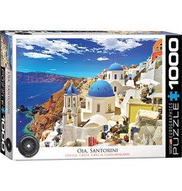 Eurographics Oia Santorini Greece - 1000 Piece Puzzle