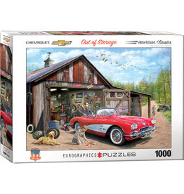 Eurographics Out of Storage - 1000 Piece Puzzle